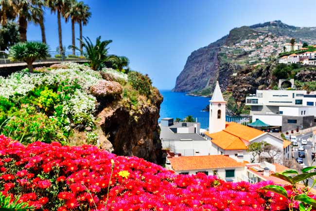 Madeira Airport is located about 20 km away from the capital city Funchal downtown.